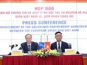 Vietnam-UE: Le processus de ratification et d'approbation du VPA/FLEGT s'achève