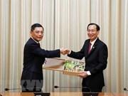 L'accélération de la coopération entre HCM-Ville et Shanghai