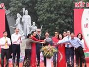 Le lancement du «Mois de l'action humanitaire»