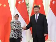 La Chine booste la coopération avec Singapour