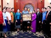 Ho Chi Minh-Ville facilite la coopération des jeunes avec le Laos