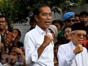Félicitations au président et vice-président indonésiens