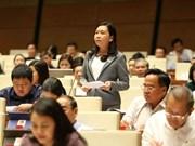 L'AN discute des rapports sur les plans socio-économiques de 2018 et 2019