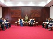 Vietnam et Laos partagent leur expérience sur la mobilisation des masses