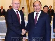Entrevue entre le PM Nguyen Xuan Phuc et le président russe Vladimir Poutine