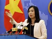 Demander à la Chine de respecter la souveraineté vietnamienne