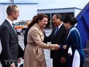 Le PM Nguyen Xuan Phuc entame sa visite officielle en Suède