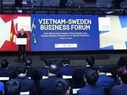 Forum d'affaires Vietnam-Suède à Stockholm
