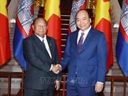 Le PM Nguyen Xuan Phuc reçoit le président de l'AN cambodgienne
