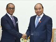 Le PM reçoit le ministre des AE et de la Coopération du Timor-Leste