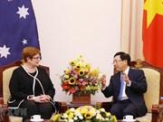 Vietnam-Australie : entretien entre les deux ministres des Affaires étrangères