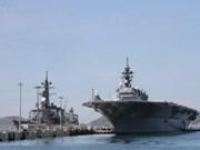 Des navires de la marine japonaise en visite au Vietnam