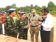 MINUSS : Le Vietnam peaufine ses préparatifs