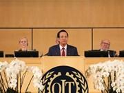 Le Vietnam s'engage à s'efforcer de bien réaliser ses devoirs de membre de l'OIT