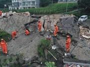 Le PM Nguyên Xuân Phuc exprime ses condoléances aux sinistrés chinois