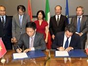 Le Vietnam et l'Italie boostent leurs liens économiques