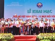 150 jeunes Viêt kiêu au Camp d'été du Vietnam 2019