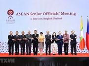 Le Vietnam participe à la réunion des hauts officiels de l'ASEAN en Thaïlande