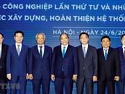 Le PM demande une amélioration du système juridique au sein de la 4e révolution industrielle