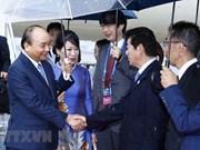 Le PM Nguyên Xuân Phuc est arrivé à Osaka pour participer au 14e Sommet du G20