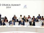 Sommet du G20: le PM Nguyen Xuan Phuc déclare l'initiative du Vietnam pour l'océan blue
