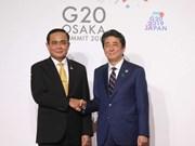 Sommet du G20 : les relations Thaïlande-Japon se développeront durablement