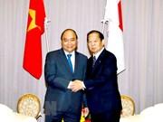 Le PM reçoit le président de l'Alliance parlementaire d'amitié Japon-Vietnam