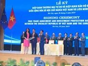 Le Vietnam et l'UE ratifieront tôt l'EVFTA et de l'EVIPA