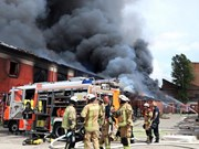 Un incendie endommage le marché vietnamien en Allemagne