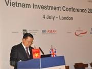 Conférence sur la promotion des investissements à Londres