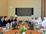 Le Vietnam et les EAU veulent porter leur commerce à 10 mds de dollars
