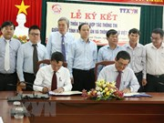 VNA et Ninh Thuân renforcent la coopération dans les communications