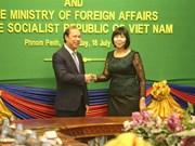 Consultation politique Vietnam-Cambodge