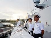 La frégate de la marine vietnamienne débute sa visite en Russie