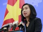 Le Vietnam défend résolument sa souveraineté en Mer Orientale