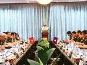 Le Vietnam et le Laos échangent sur la politique de défense
