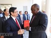 Le Vietnam et de l'Afrique du Sud cultivent leurs liens