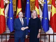 Le Premier ministre reçoit la vice-présidente de la Commission européenne