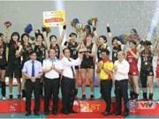 Coupe VTV Tôn Hoa Sen : Le Vietnam décroche le 2e prix