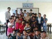 Clôture de l'année scolaire 2018-2019 de l'Ecole primaire d'amitié Khmer-Vietnam Tân Tiên