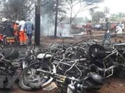 Sympathie pour la Tanzanie pour l'explosion d'un pétrolier