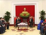 Vietnam et le Laos forgent une coopération en matière d'inspection