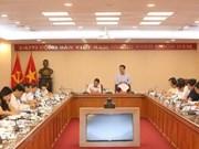 La presse appelée à combattre la corruption et à défendre l'idéologie du Parti