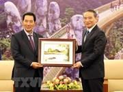 Le vice-président de l'AN du Laos en visite à Da Nang
