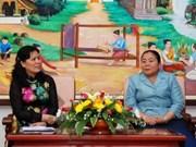 Renforcement des liens entre femmes vietnamiennes et laotiennes