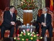 Nguyên Phu Trong plaide pour les liens Vietnam-Mongolie