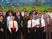 D'anciens soldats volontaires Vietnamiens au Laos