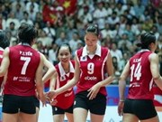 Volley-ball: Vietnam performant au Championnat d'Asie