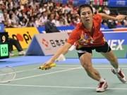 Badminton: Tiên Minh s'arrête en demi-finale au Japon