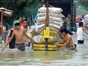 Typhon: plus de 110 morts et portés disparus